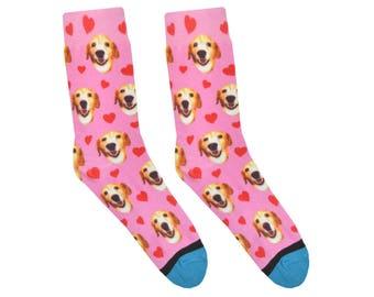 Custom Valentine's Day Socks