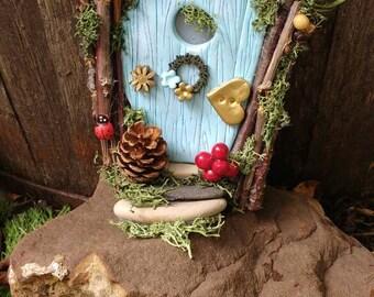 OOAK Fairy Door part of fairy in a jar collection