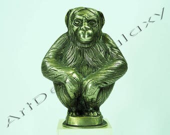 Antique Figural Pepper Shaker Monkey