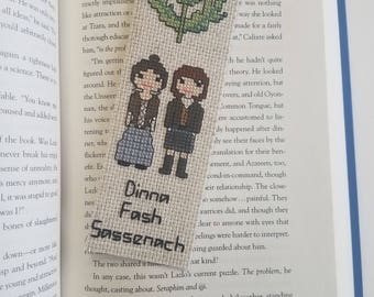 Outlander - Dinna Fash Sassenach - Claire and Jamie - Bookmark