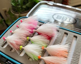 Custom Marabou Fishing Jigs