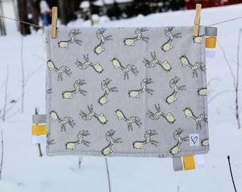 Doudou labels unisex giraffe