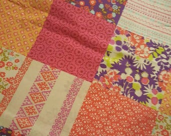 Patchwork Floral Weighted Blanket - Various Weights