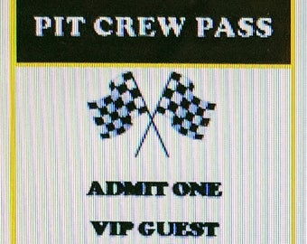 Digital Download Pit Crew Pass