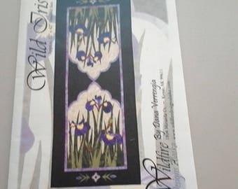 Wild Iris pattern by Dana Verrengia