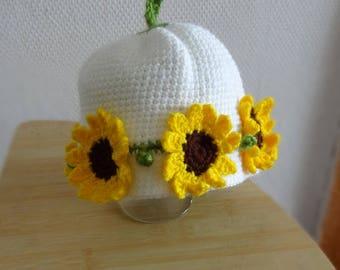 girl Outfit Baby Hat, Baby Girl Hat Newborn Hat Photo Prop, Infant Hat Newborn Hat, Girl  Hat, Crochet Flower Baby Crochet Hat Sunflower Hat