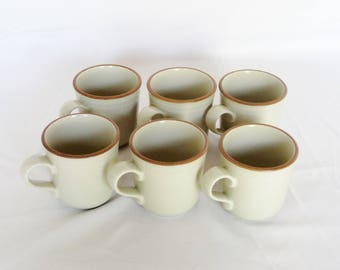 Vintage Noritake Stoneware Mugs