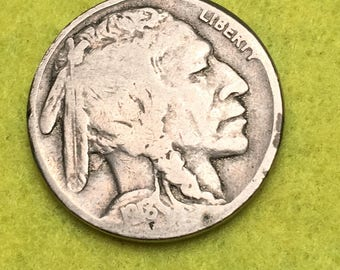 1918-P Indian Head Nickle Original Type 1 G<> Coin you see is Coin you get / Free S&H on this order  <>#BCE-537