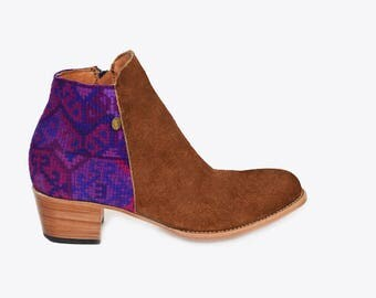 Santee Boho -Leather Boots
