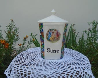 From the 1950's Spice jar - sugar bowl