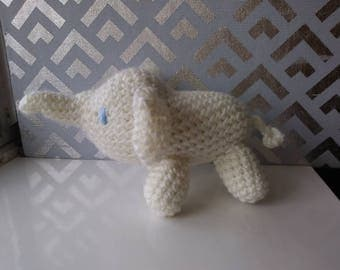 Amigurumi Elephant in your color choice