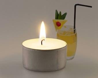 Pina Colada Vegan Soy Handmade Scented Tealights
