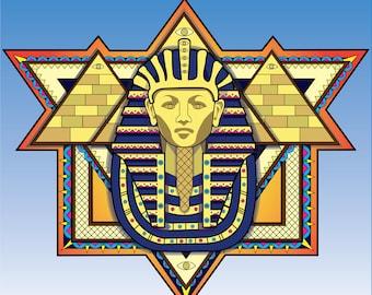 Third Eye Pharaoh Print
