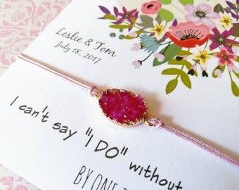 Set Bridesmaid bracelets. Will you be my Bridesmaid? Proposal bridesmaid.