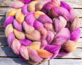 Aphrodite: 100g Extra fine Shetland British wool tops