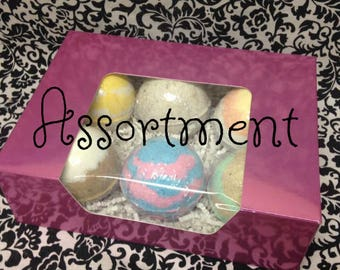 6 Pack Assortment Classic Bath Bombs