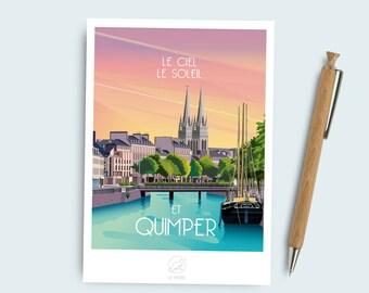 Postcard Quimper