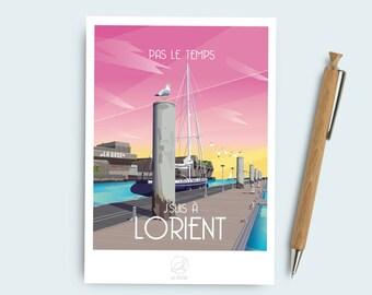 Postcard Lorient (France)