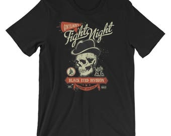 Gentlemen's Fight Night Black Eyed Division Short-Sleeve Unisex T-Shirt