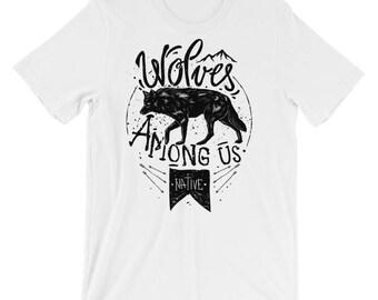 Wolves Among Us Short-Sleeve Unisex T-Shirt