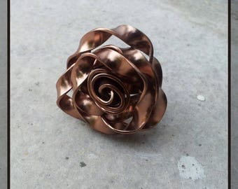 Aluminium flower ring