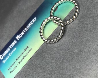 Rope ring (R or J)