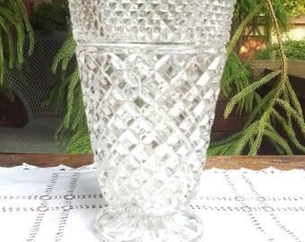 Anchor Hocking Wexford Pattern Vase