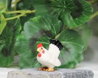 Miniature Fairy Garden Chicken Figurines, Fairy Garden Animals, Chicken Statues, Dollhouse Chicken Figurines, Dollhouse Animals,