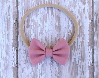 Rose Baby Bow