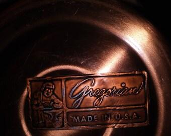 Gregorian copper mug