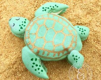 12 Sea Turtle Macarons