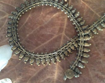 Vintage necklace with typical pattern of the Middle East