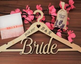 Bride hanger Wedding hanger Bridal hanger Wedding dress hanger Personalized wedding hanger Wedding hanger personalized Hanger wedding Hanger