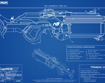 Blueprint Mass Effect Andromeda Cyclone
