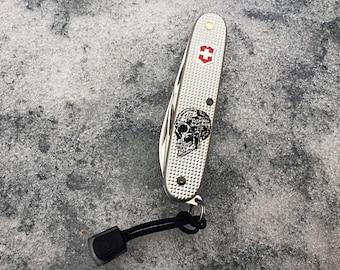 Victorinox Swiss Army Knife Pioneer ( Custom Skull ) 93 mm