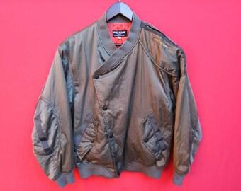 vintage issey miyake skyline jacket designer large mens size