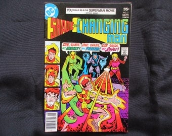 Shade The Changing Man #2 D.C. Comics 1977