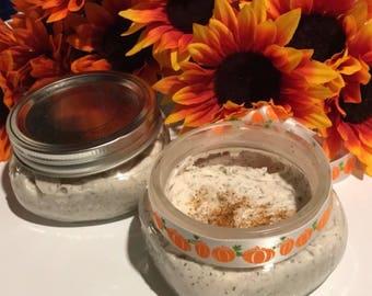 Pumpkin Chai Tea Whipped Sugar Scrubs