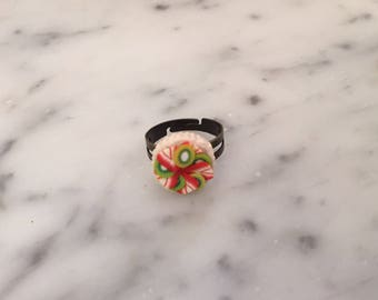 Strawberry and Kiwi Tart Ring