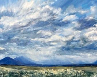 "Landscape Painting- ""Dreamlike"" - Original Oil Painting"