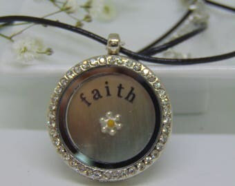 """Faith Single Mustard Seed Necklace. Matthew 17 v 20; """"...if you have faith as small as a mustard seed, you can say to this mountain..."""""""