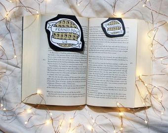 Friends dont lie, stranger things Magnetic Bookmark