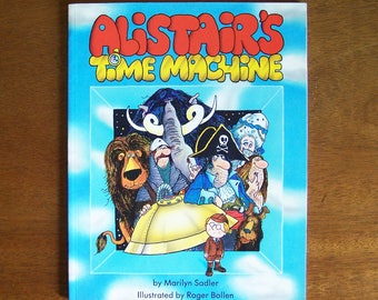 Alistair's Time Machine by Marilyn Sadler - Children's Book