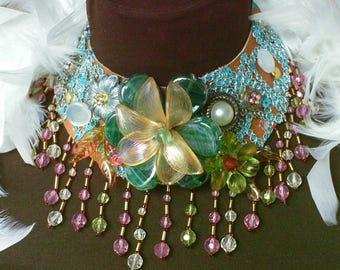 choker, beads