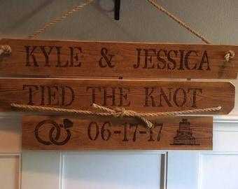 Wedding, reception, custom, rustic, wood burnt, hand made,