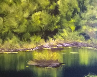 16x20 original landscape oil painting