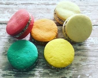 12 Alfajores de Maicena / cornstarch shortbread cookies