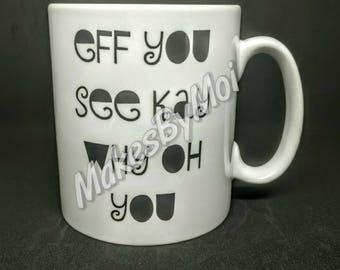Swear word Mug