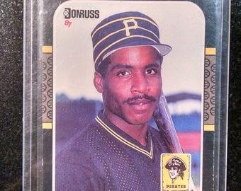 1987 Barry Bonds Baseball Card