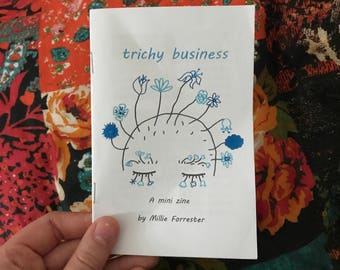 Trichy Business - a trichotillomania mini zine